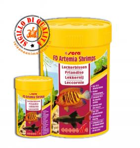 Sera FD Artemia Shrimps Mangime per Pesci