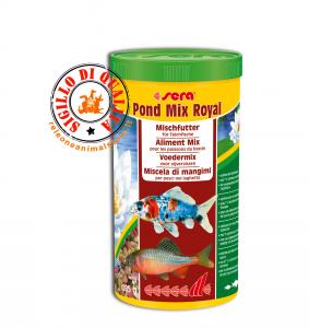 Miscela di mangimi per Pesci nel Laghetto Pond Mix Royal Sera 1000 ml