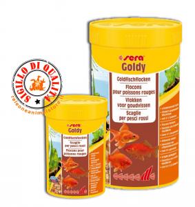 Sera Goldy Mangime in Scaglie per Pesci Rossi Acquario
