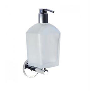 Dispenser in vetro acidato da bagno a parete serie Tubina Koh-i-noor