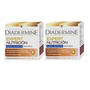 Diadermine Expert Nutrition Night Cream 50ml Set 2 Parti