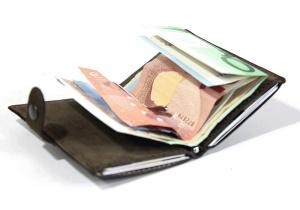 IClutch wallet - il portafoglio smart tascabile in vera pelle