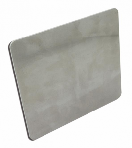 CCE License Backing Plate 3 mm Aluminum 200 mm X 180 mm