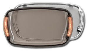 Black Illumabezel clear lens by Cycle Visions