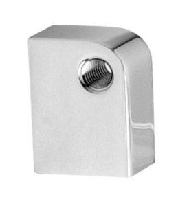 Headlight Mounting Block, Chrome