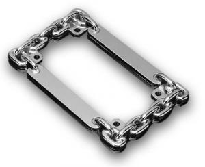 License Plate Frame, Chain