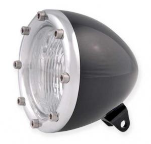 Headlight, Black Anodized/Polished