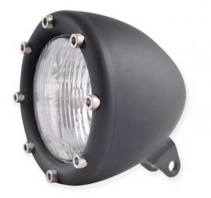 Headlight, Flat Black Anodized