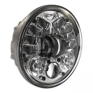 JW Speaker 8690A, LED Adaptive 5 3/4, Chrome