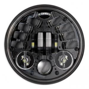 JW Speaker 8690M, LED Standard 5 3/4, Black
