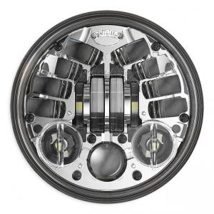 JW Speaker 8690M, LED Standard 5 3/4, Chrome