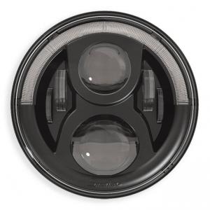 Speaker 7 LED Insert with Position Light, EU Version, Black