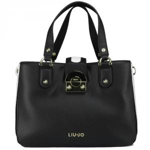 Hand bag Liu Jo IRVINE N18268 E0037 NERO+GLASS