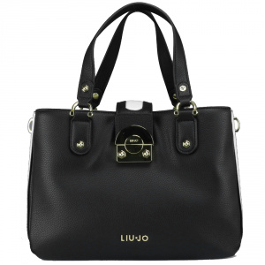 Hand bag Liu Jo IRVINE N18268 E0037 NERO+GLASS