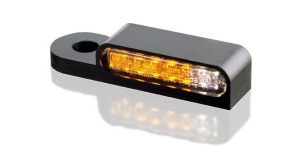 LED Turn Signals Front,  Black With Position Light