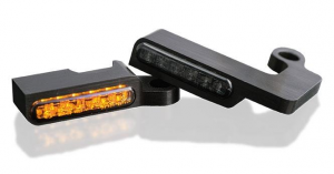 LED Turn Signals Front, Black