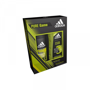 Adidas Pure Game Body Hair Face 250ml Set 2 Parti 2018
