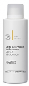 UNIFARCO LATTE DETERGENTE ANTIROSSORE MIRTILLO E BIOFLAVONOIDI 200 ML