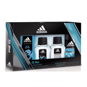 Adidas Ice Dive Eau De Toilette Spray 100ml Set 4 Parti 2018