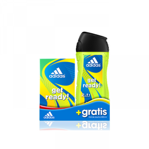 Adidas Get Ready For Him Eau De Toilette Spray 50ml Set 2 Parti 2018