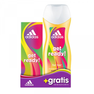 Adidas Get Ready For Her Eau De Toilette Spray 50ml Set 2 Parti 2018