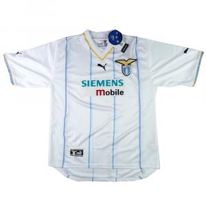 2001-02 Lazio Maglia Home Europea M *CARTELLINO
