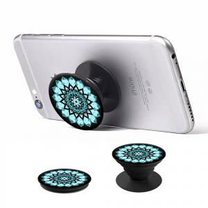 PopSocket con supporto per auto - Blue Mandala