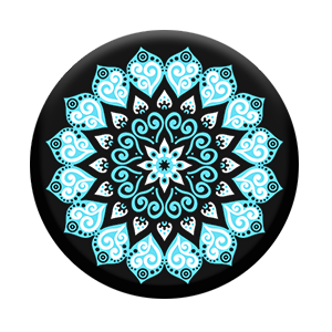 PopSocket con supporto per auto - Blue Mandala