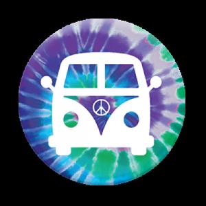 PopSocket con supporto per auto - Pink bus