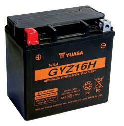 Yuasa Battery GYZ16HL