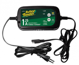 Battery Tender Tender Plus 1.25A Select. 6V/12V Lead Acid/ Lithium