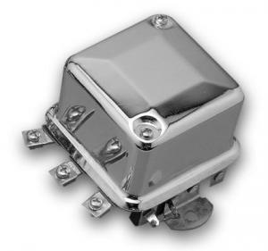 Accel 6V Mechanical Regulator Chrome