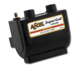 Accel High Dual Fire Coil Black