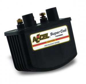 Accel High Single Fire Coil Black