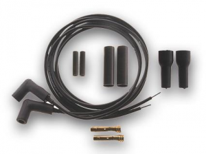 Accel 5 mm Ignition Wire Kit Black