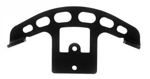 Coil Relocation Kit, Powder Coated, Black