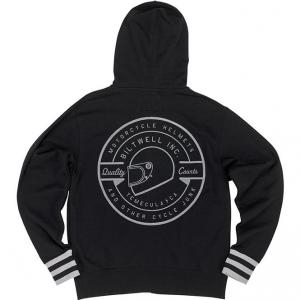 Zip Hoodie, Icon, Black