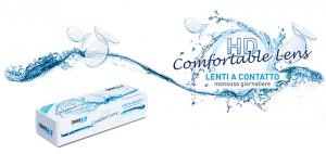 LENTI A CONTATTO HD CONFORT LENS MONOUSO GIORNALIERE - 1,75  10 PZ