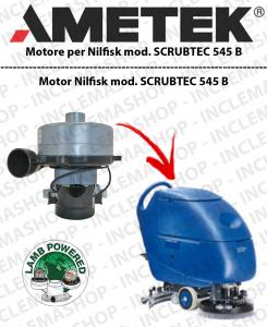 SCRUBTEC 545 B motor de aspiración LAMB AMETEK para fregadora NILFISK ALTO