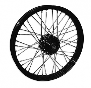 40 SPOKE 21X2.15 WG SD BLACK 3/4