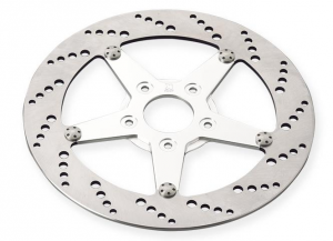 11,5 Drilled Style Rotor, Rear, Left,