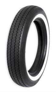 Shinko, Classic, Front/Rear TireMT90-16 74H E-240 (TubeType) Kevlar Belted Single White Line