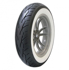 Vee Rubber Front Tire MT90 B16 M/C 72H (Tubeless) VRM-302F WW Whitewall