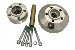 Hub Kit for RevTech Design Wheels, Front Chrome