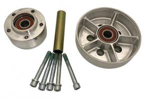 Hub Kit for RevTech Design Wheels, Rear Chrome