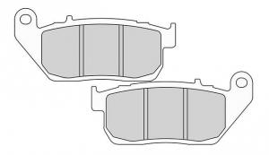 Brake Pad OEM Caliper Front, Organic P-Compound