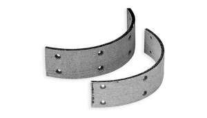 (5)SPR  BRAKE SHOE U/ FL 63-72