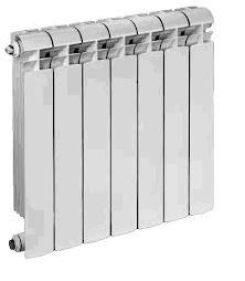 Radiatore in alluminio Global modello VOX interasse 600