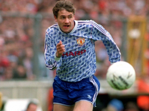 1991-92 Manchester United Maglia Away M (Top)