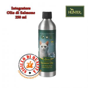 Hunter Olio di Salmone Integratore per Gatti 250 ml